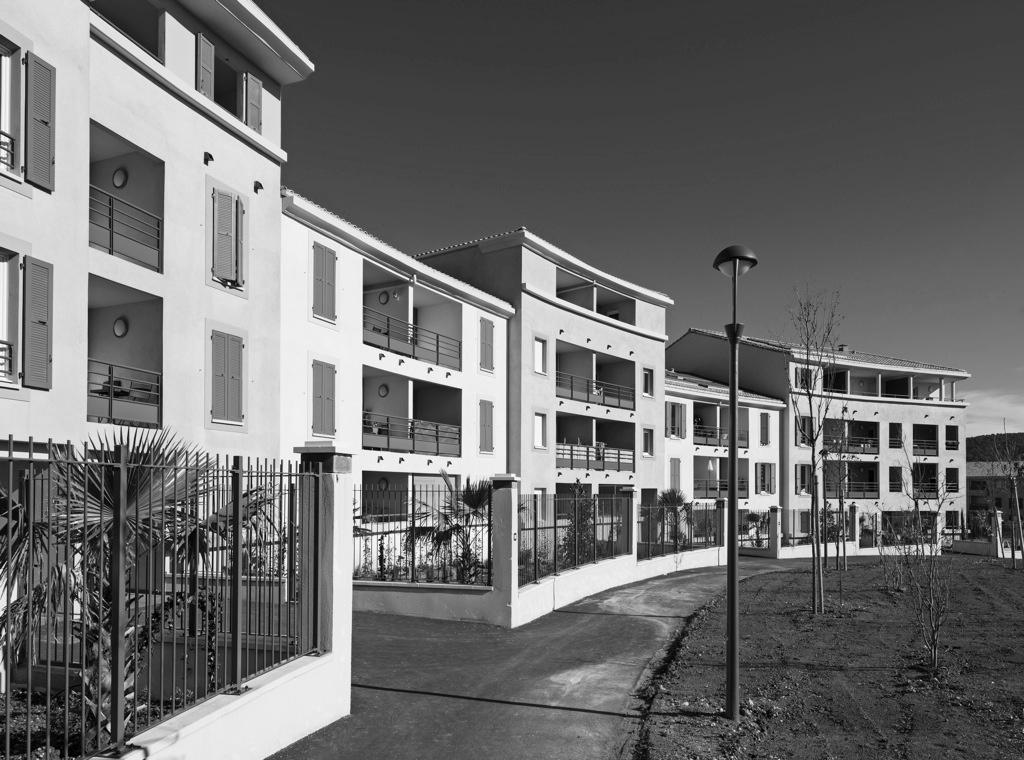 Résidence Grand Place Luynes, Réalisation 2012