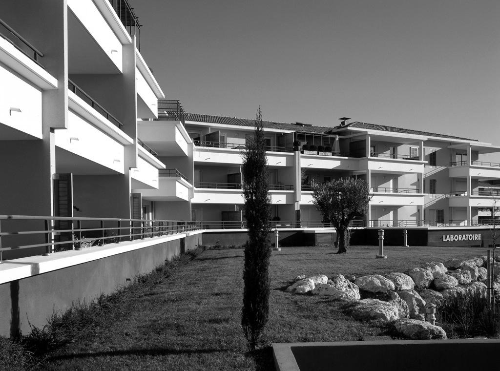 Les Terrasses du Vallat Aix la Duranne, Réalisation 2006