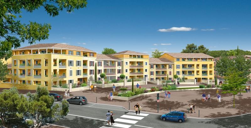 Programme immobilier Habitation Aix en Provence GRAND PLACE à Luynes